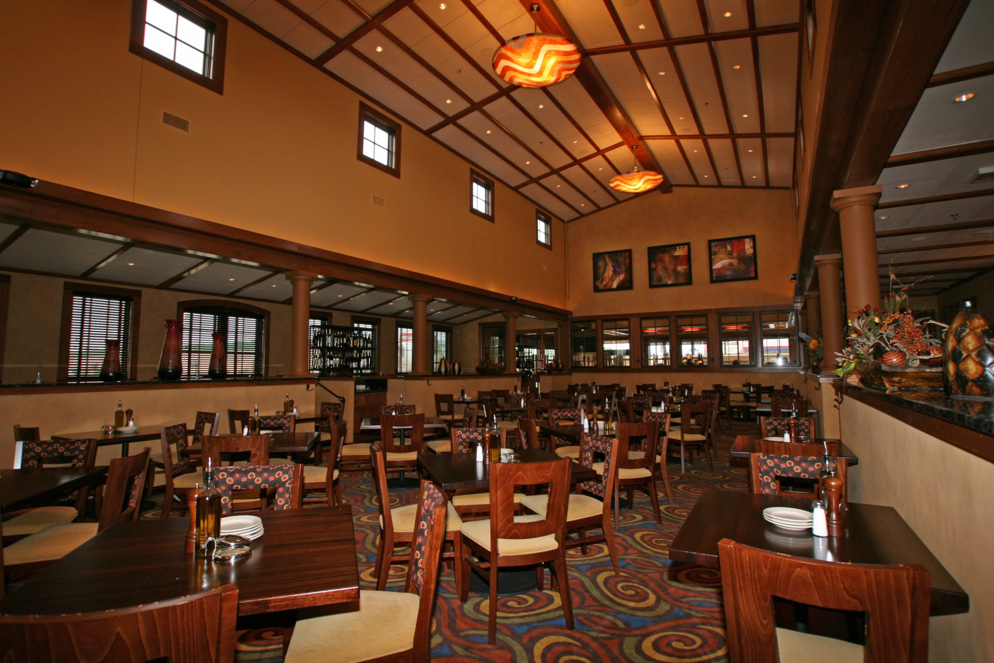 Ciatti's main dining area