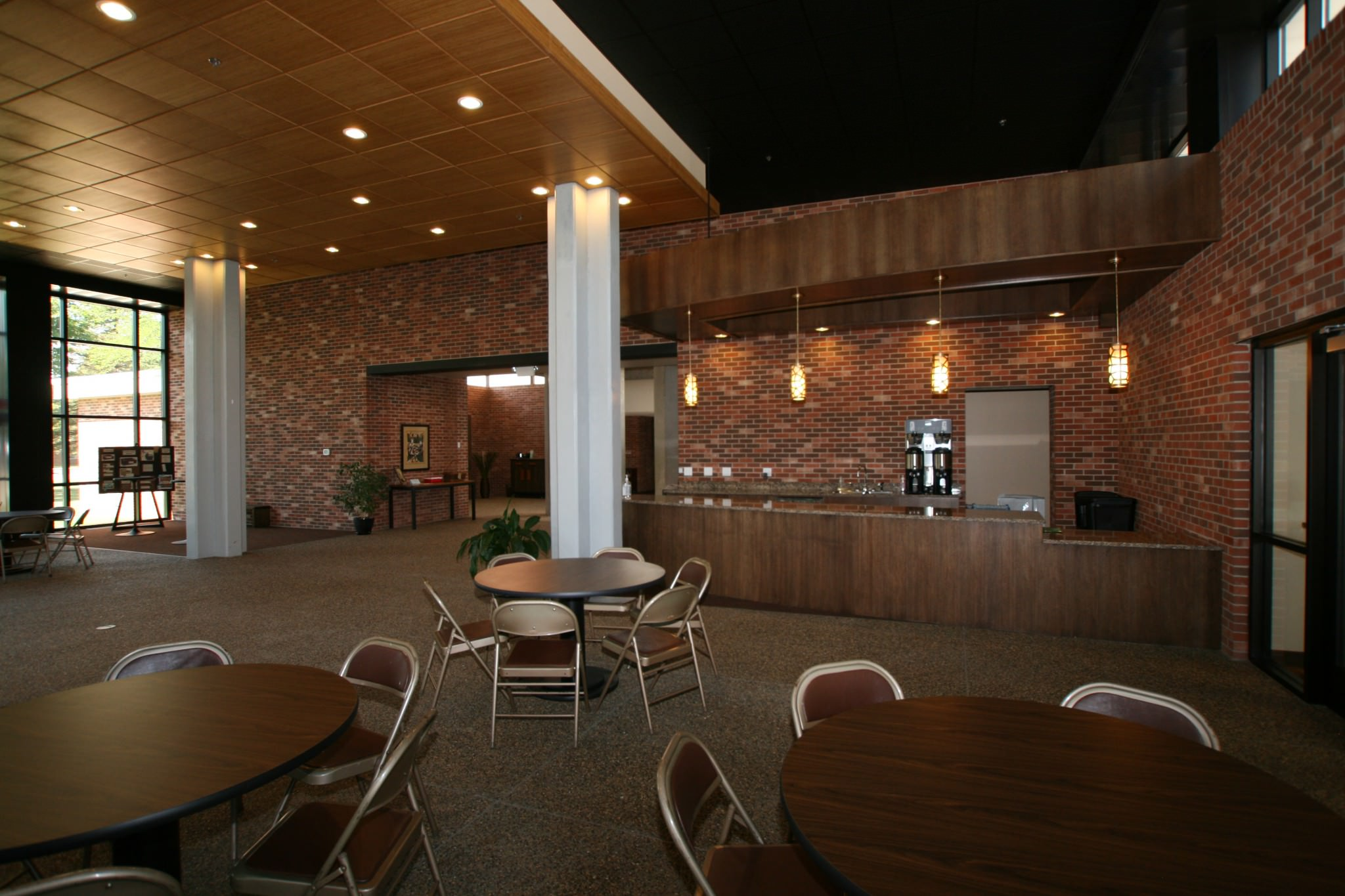 First Lutheran reception area