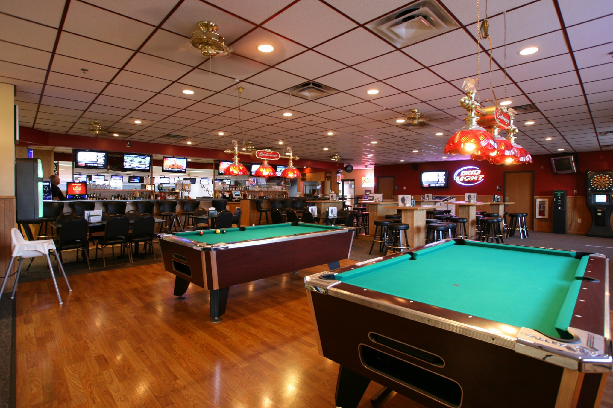 McPete's pool tables