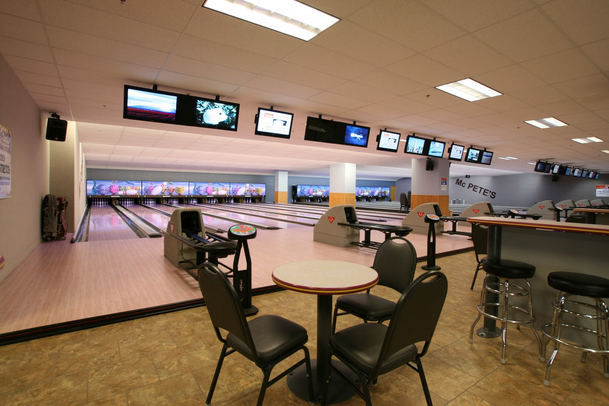 McPete's bowling alley